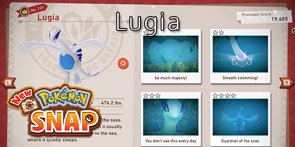 New Pokemon Snap - How To Find Lugia (All Stars)