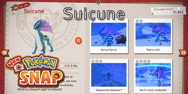 New Pokemon Snap - How To Find Suicune (All Stars)