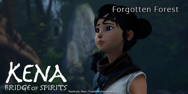 Kena: Bridge Of Spirits - Forgotten Forest - Part 3 - Walkthrough