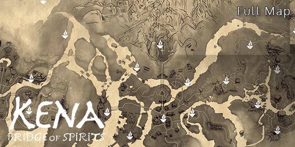 Kena: Bridge Of Spirits - Full Map - Complete
