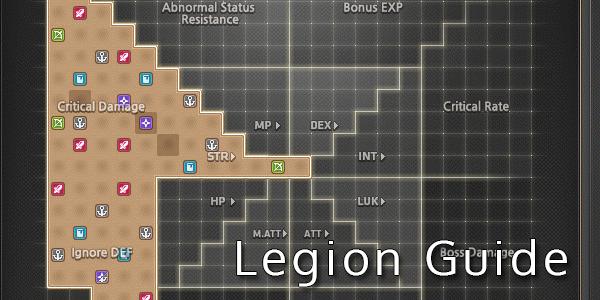 MapleStory Legion Guide