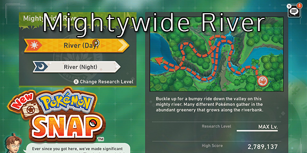 New Pokemon Snap - Mightywide River
