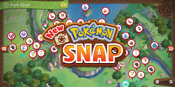 New Pokemon Snap - All Completed Maps