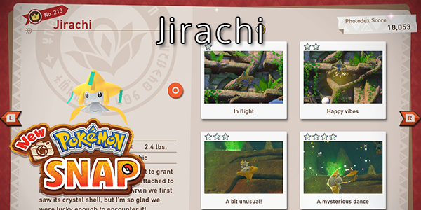 New Pokemon Snap - How To Find Jirachi (All Stars)
