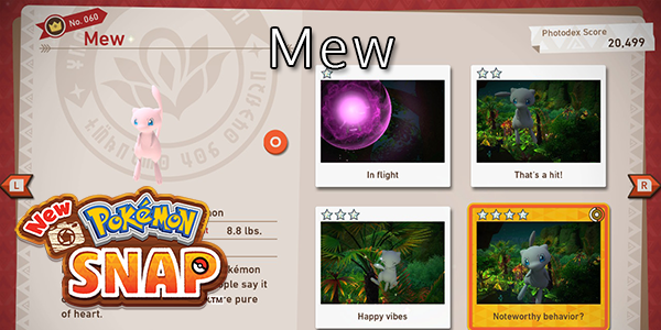 New Pokemon Snap - How To Find Mew (All Stars)