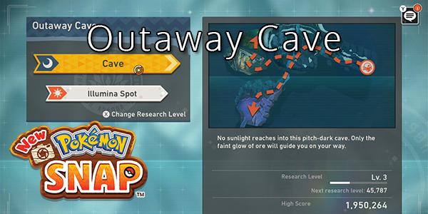 New Pokemon Snap - Outaway Cave - Pokemon List