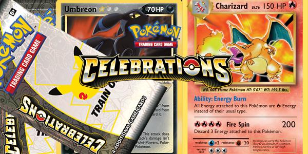 Pokemon TCG: Celebrations Collection Announced!