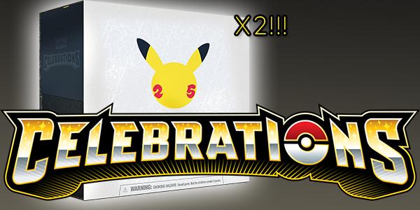 Opening Pokemon Celebrations Elite Trainer Box!