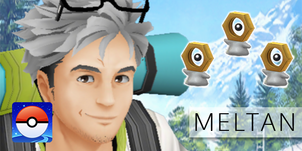 Pokemon GO: Let's Go, Meltan - Special Research