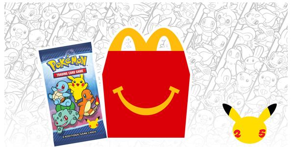 Pokemon 25th Anniversary McDonalds Booster Pack Openings!