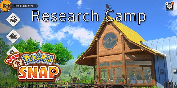 New Pokemon Snap - Research Camp - Pokemon List