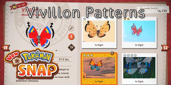 New Pokemon Snap - All Vivillon Patterns
