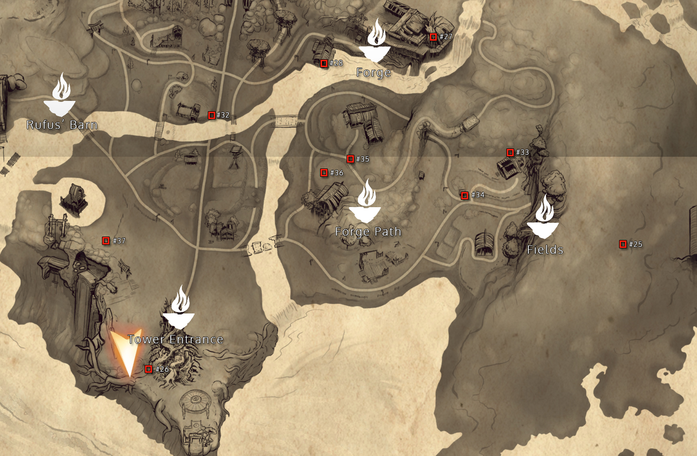 Fields Rot Hat Locations
