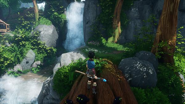 Forgotten Forest Waterfall