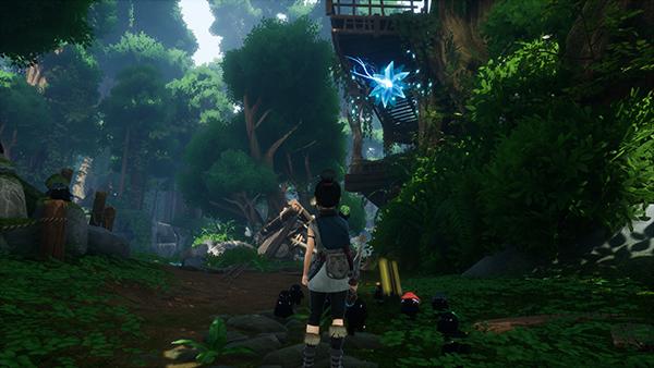 God Tree Shrine Entrance