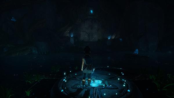 Kena Unlock Cave Door