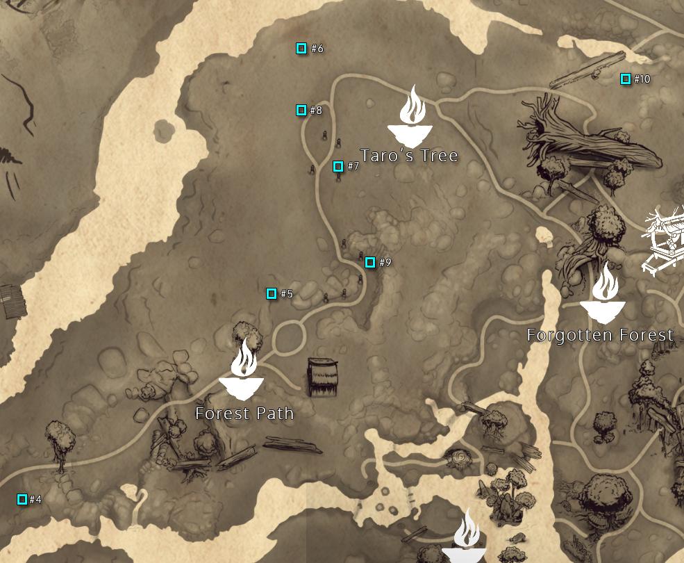 Taro's Tree Rot Map