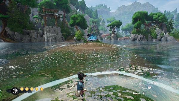 Flower Shrine Water