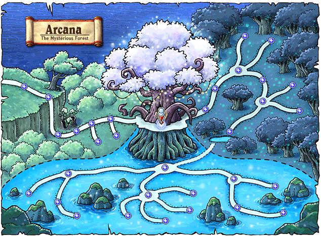 Arcana Map