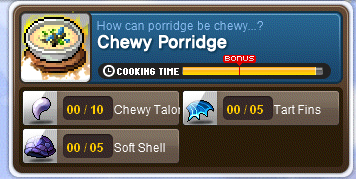 Chewy Porridge
