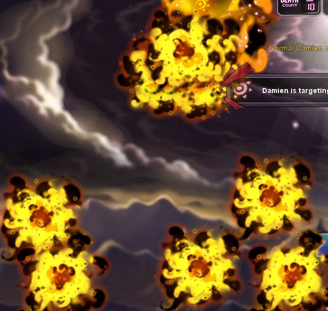 Damien Fire Plumes