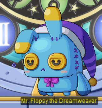 Mr Flopsy Dreamweaver