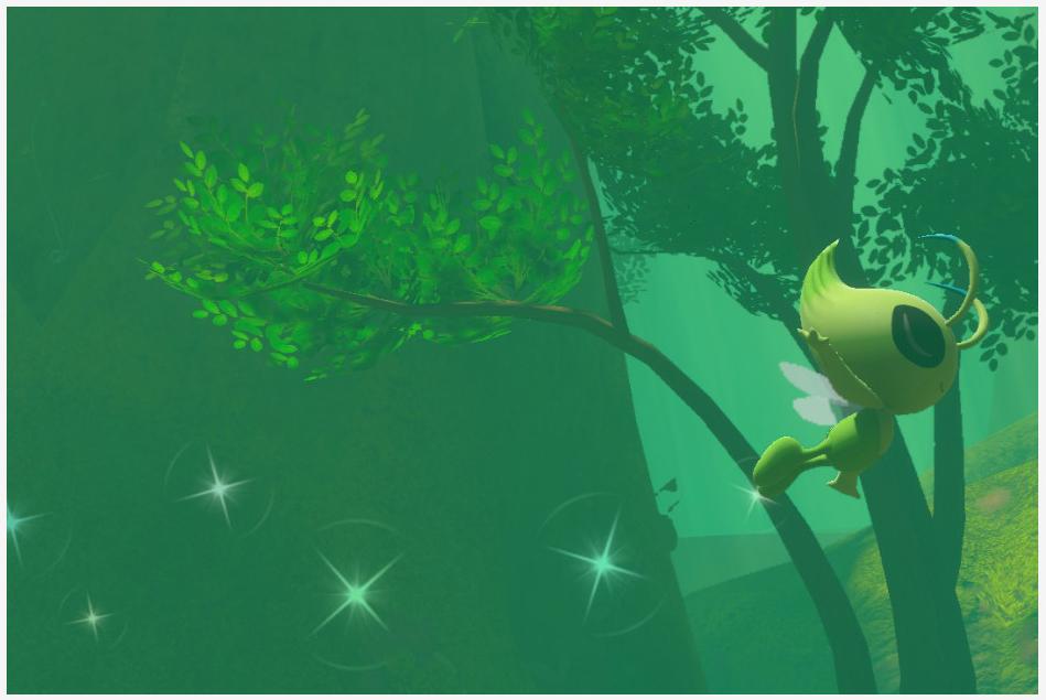 Celebi - New Pokemon Snap
