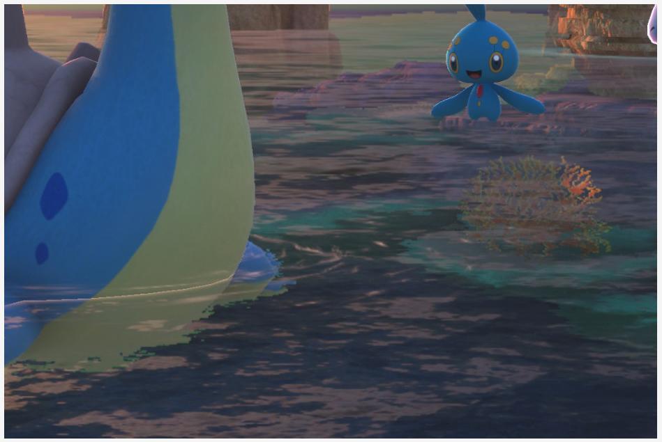 Manaphy - New Pokemon Snap