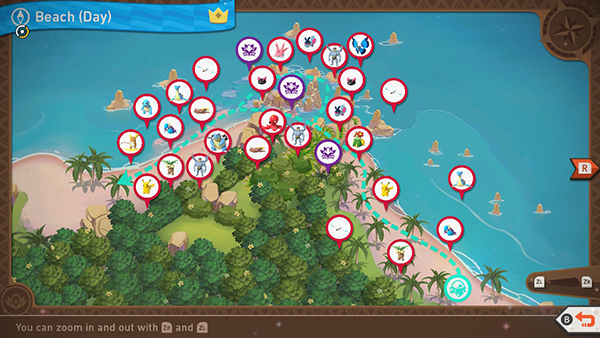 Blushing Beach - Day - Complete Map
