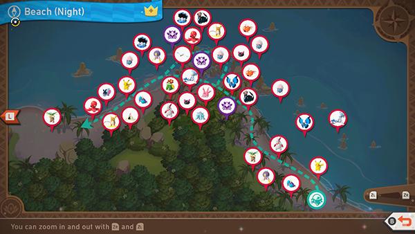 Blushing Beach - Night - Complete Map