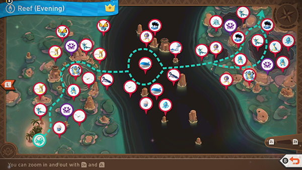 Maricopia Reef - Evening - Complete Map