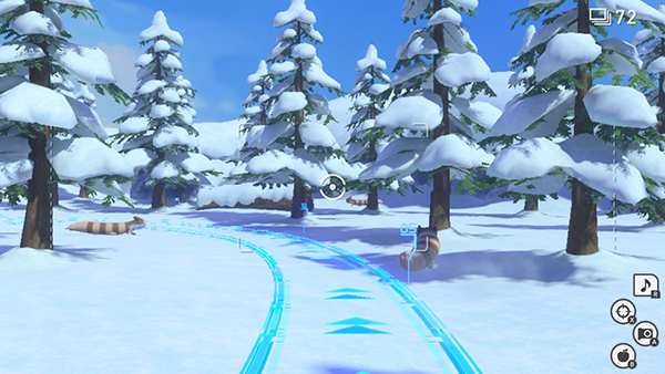 Snowfields - New Pokemon Snap