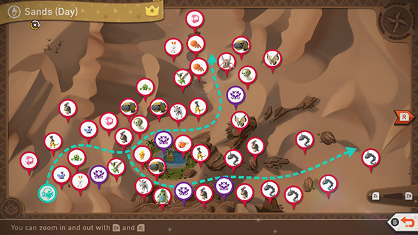Sweltering Sands - Day - Complete Map