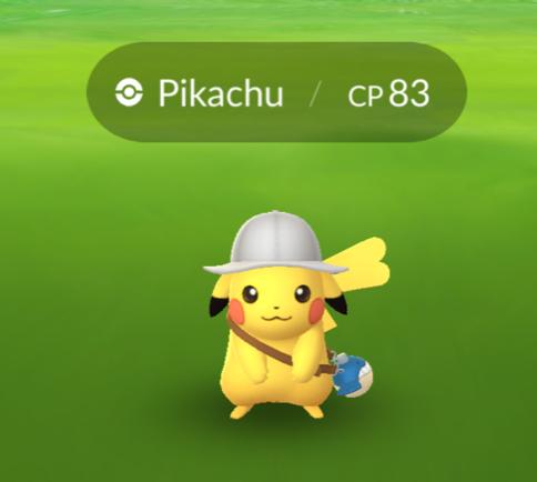 Explorer Pikachu