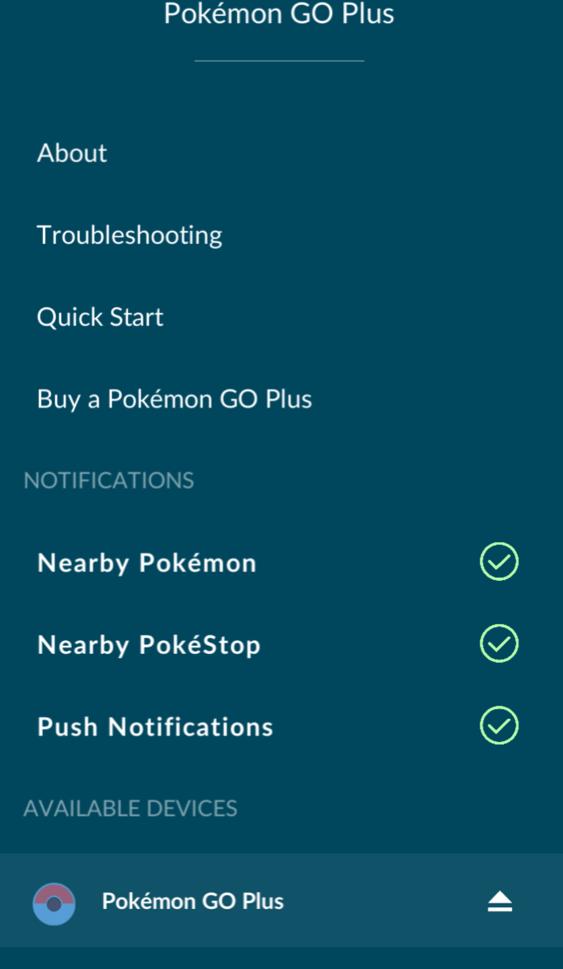 Pokemon Go-tcha Syncing