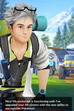 Professor Willow - Pokemon GO