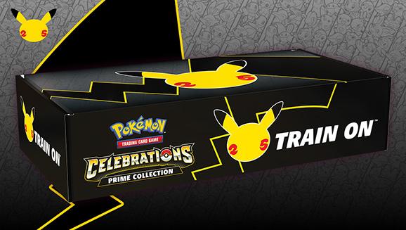 25th Prime Collection Pokemon Celebrations