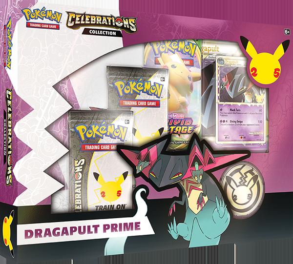Pokemon TCG Celebrations Dragapult Prime