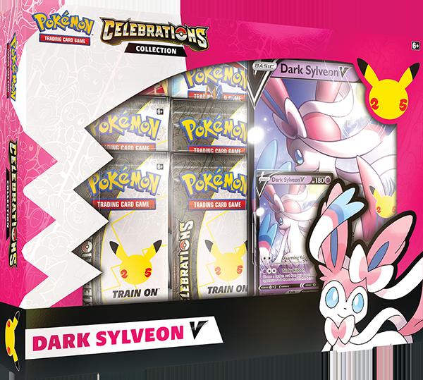 Pokemon TCG Celebrations Collections Dark Sylveon V