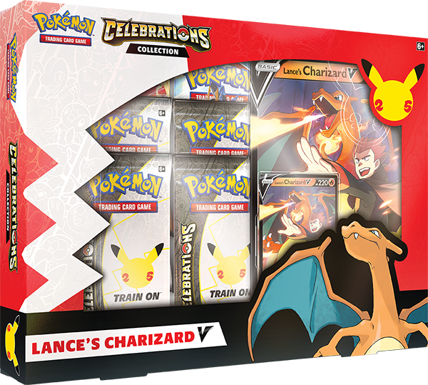 Pokemon TCG Celebrations Collections - Lance's Charizard V