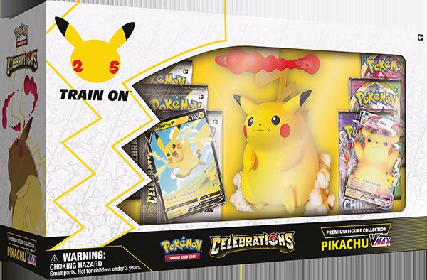 Pokemon TCG Celebrations Premium Figure Collection - Pikachu VMAX
