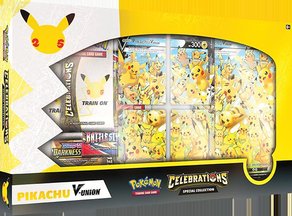 Pokemon TCG Celebrations Special Collection Pikachu V-Union
